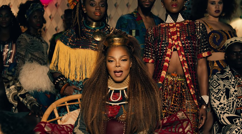 Video Premiere: Janet Jackson - Made For Now (Feat. Daddy Yankee)