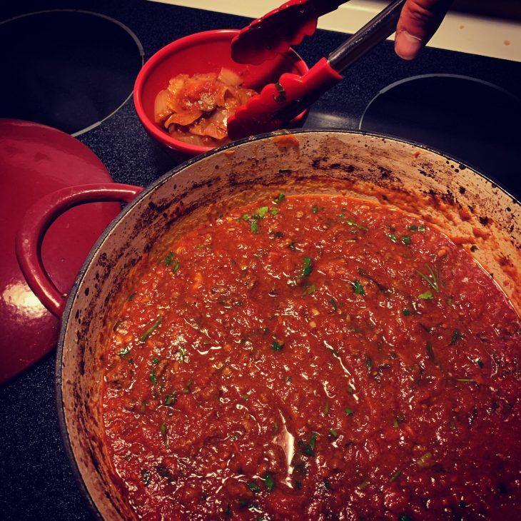 Trilo's Monster Tomato Sauce