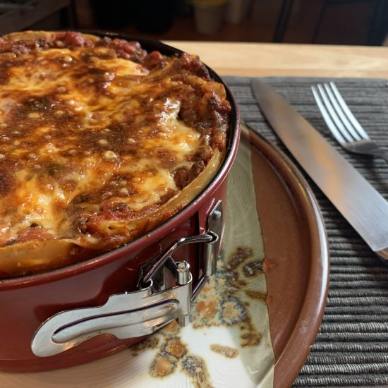 Fresh Pasta Lasagna
