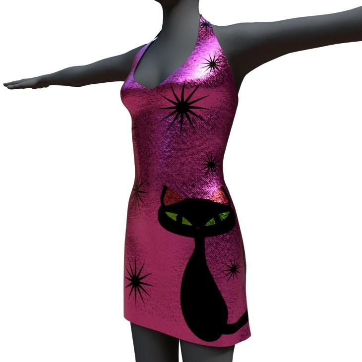 Marisol Dress Sparkle Kitty