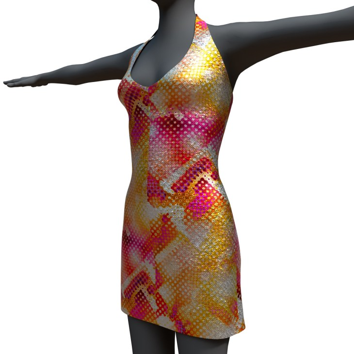 Marisol Dress Pop Art