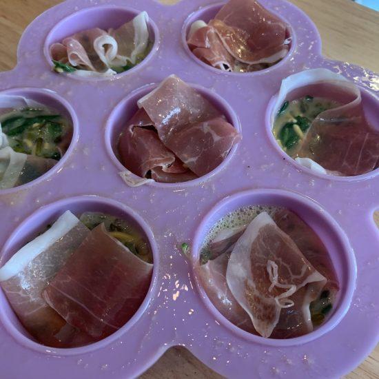 Prosciutto-wrapped Egg Bites
