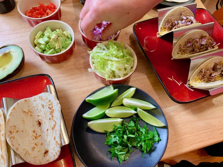Crispy Carnitas Street Taco