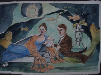 In the evening Margot wore her favorite shawl, woven that year, while Atticus read to her from their favorite book of poems.