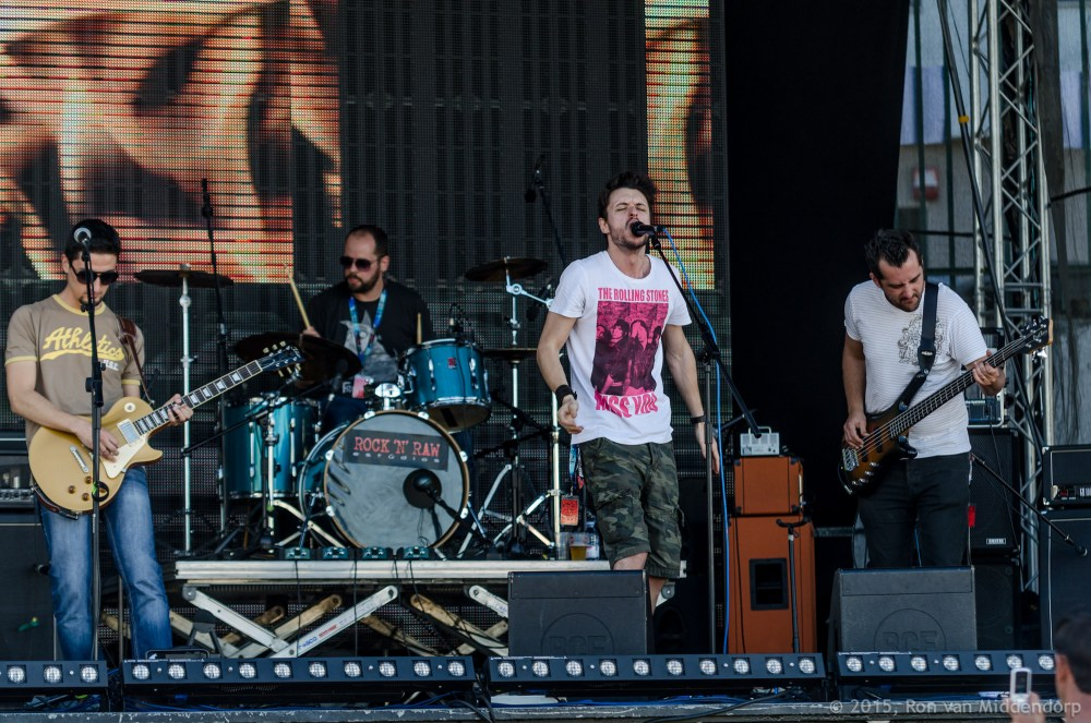 photo: Blue Trash Can @ Rock in Amadora 2013