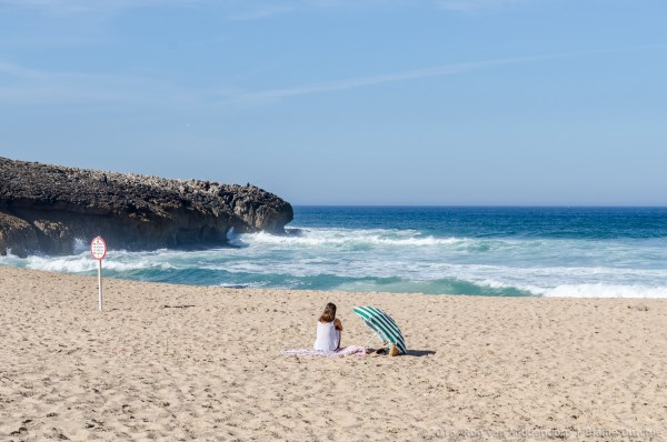 Hot Day at Guincho photograph