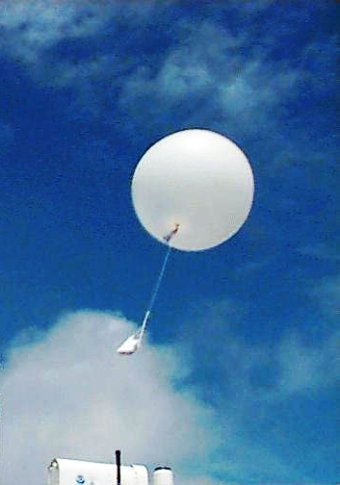 weather balloons,...