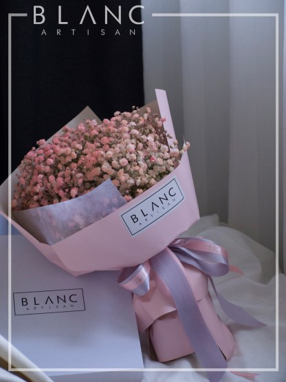☁️ MILAN - PINK BABY BREATH BOUQUET