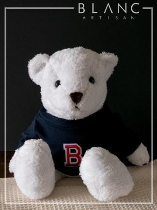 🐰 SUGAR TEDDY - WHITE BEAR DOLL | 2019 COLLECTION | BLANC COTTAGE
