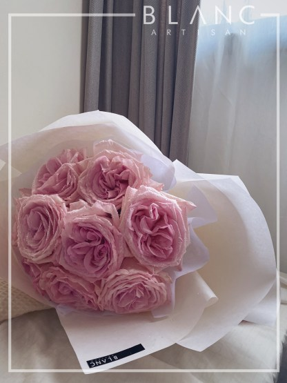 PINK ROSES PROPOSAL BOUQUET DELIVERY