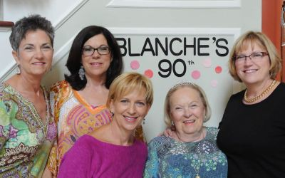 Celebrating Blanche's 90th Birthday