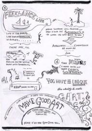Neil Gaiman Speech - 'Make Good Art' - Sketchnotes 3