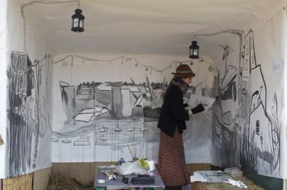 work in progress - caravanserai - blanche ellis