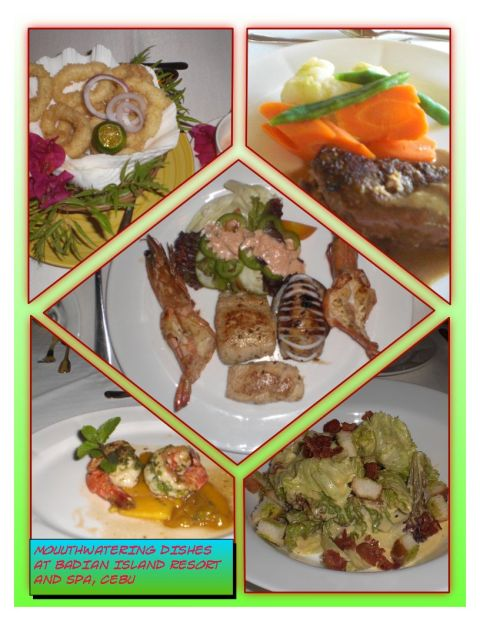 Badian Island Resort and Spa's Sumptuous Meals