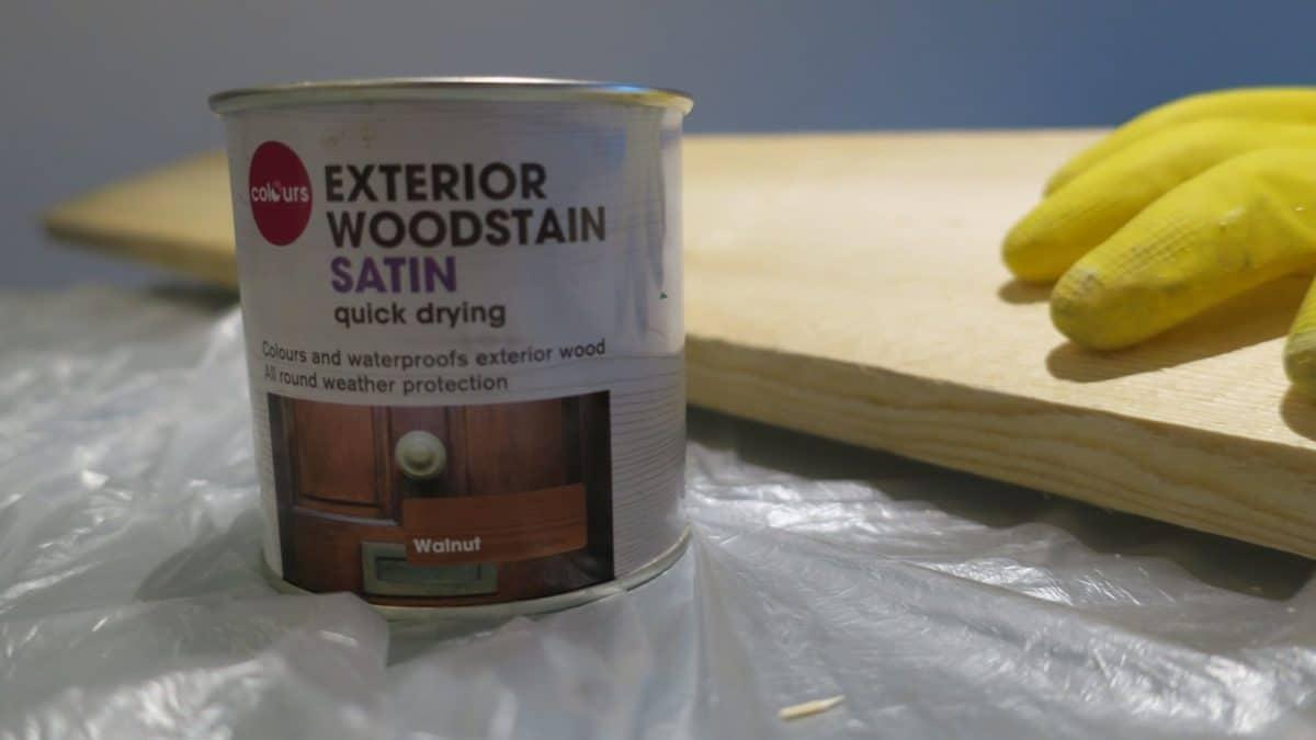 Tinte para madera - Colours Walnut