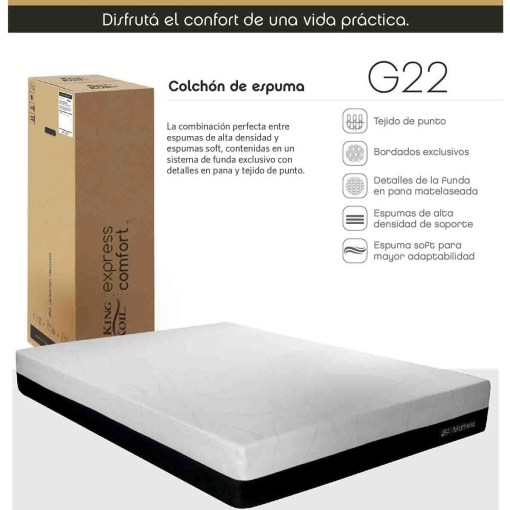 Colchon King Koil Express Comfort G22 (3)