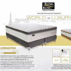 Colchon y Sommier King Koil Lexington