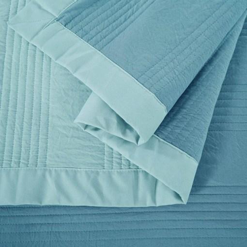 Cobertor Lyon Celeste