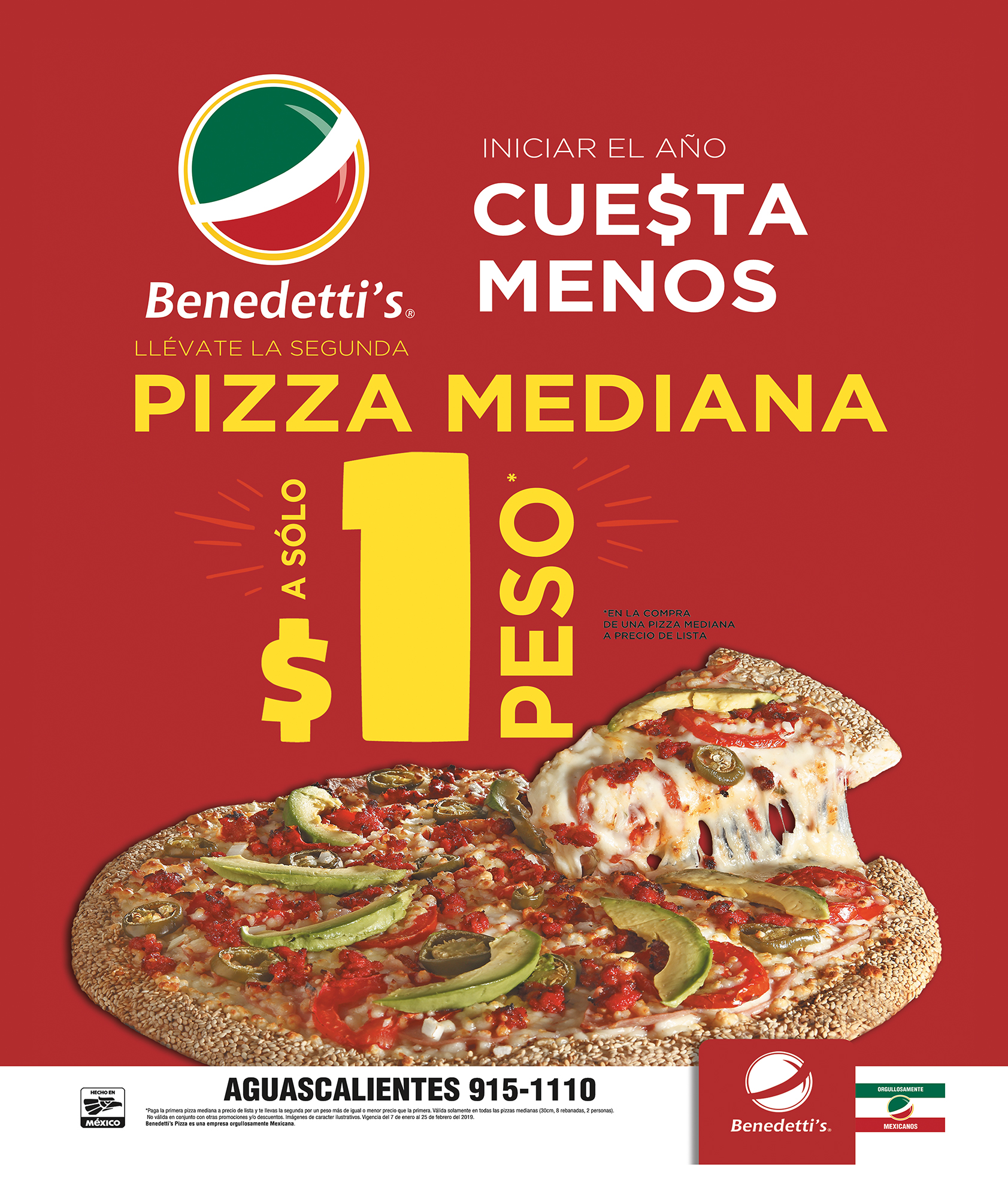 BENEDETTIS 8 ENERO 19