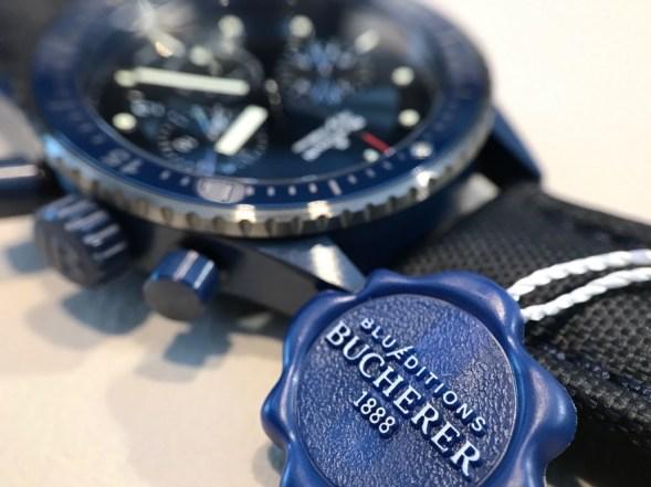Bathyscaphe Chronographe Bucherer Blue Edition