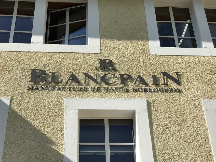 Blancpain farmhouse in Le Brassus