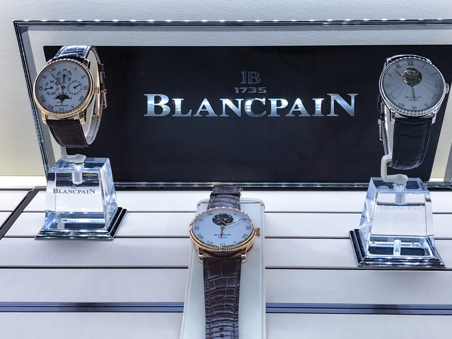 Blancpain Display