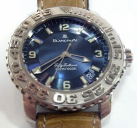 FF Trilogy 2200-1540 (WG, blue dial)
