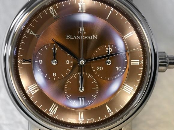 Villeret Chronographe Monopoussoir 6185