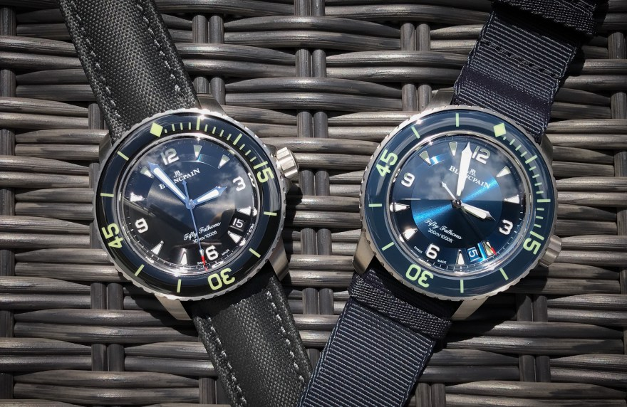 Fifty Fathoms Automatique Titanium