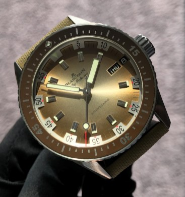 Bathyscaphe Day Date Desert Edition