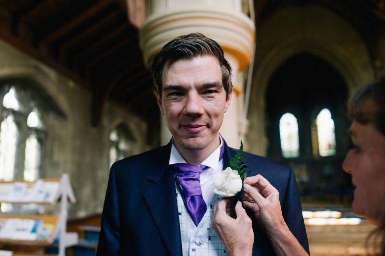 St Marys Church Warsash Wedding Photographer 2