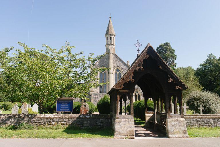 St Marys Church Warsash Wedding Photographer 1