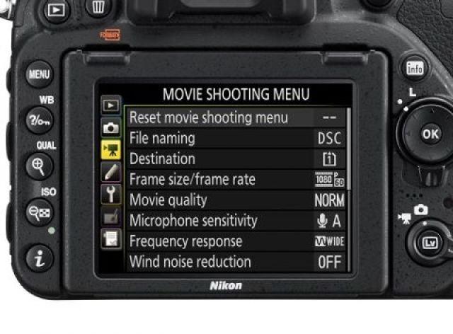 nikon d750 movie menu review