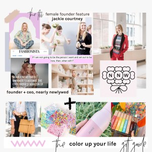 jackie courtney - female founder feature the fill