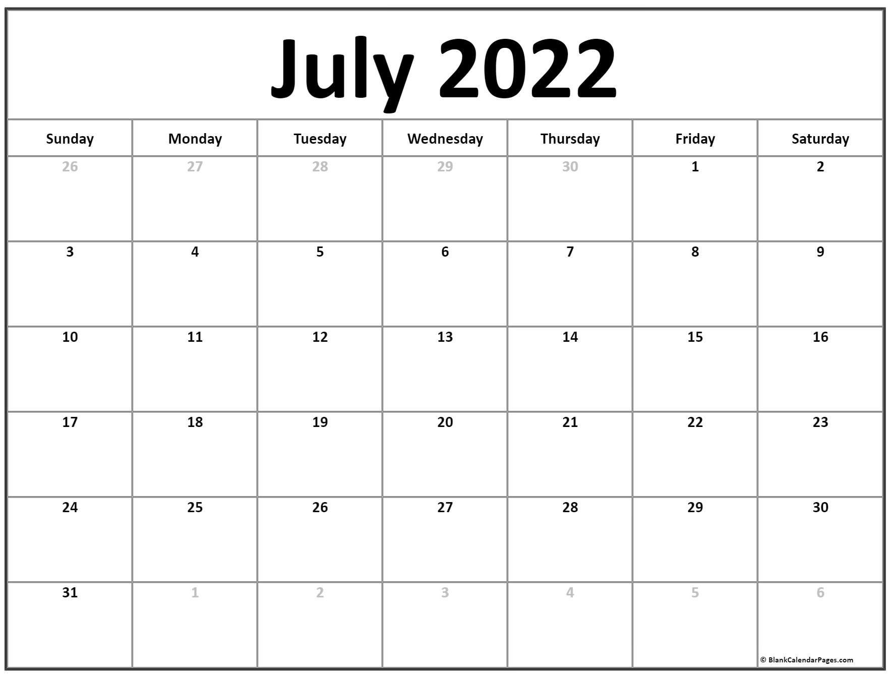 These include monthly calendars and even complete 2021 planners. July 2021 calendar   free printable calendar templates