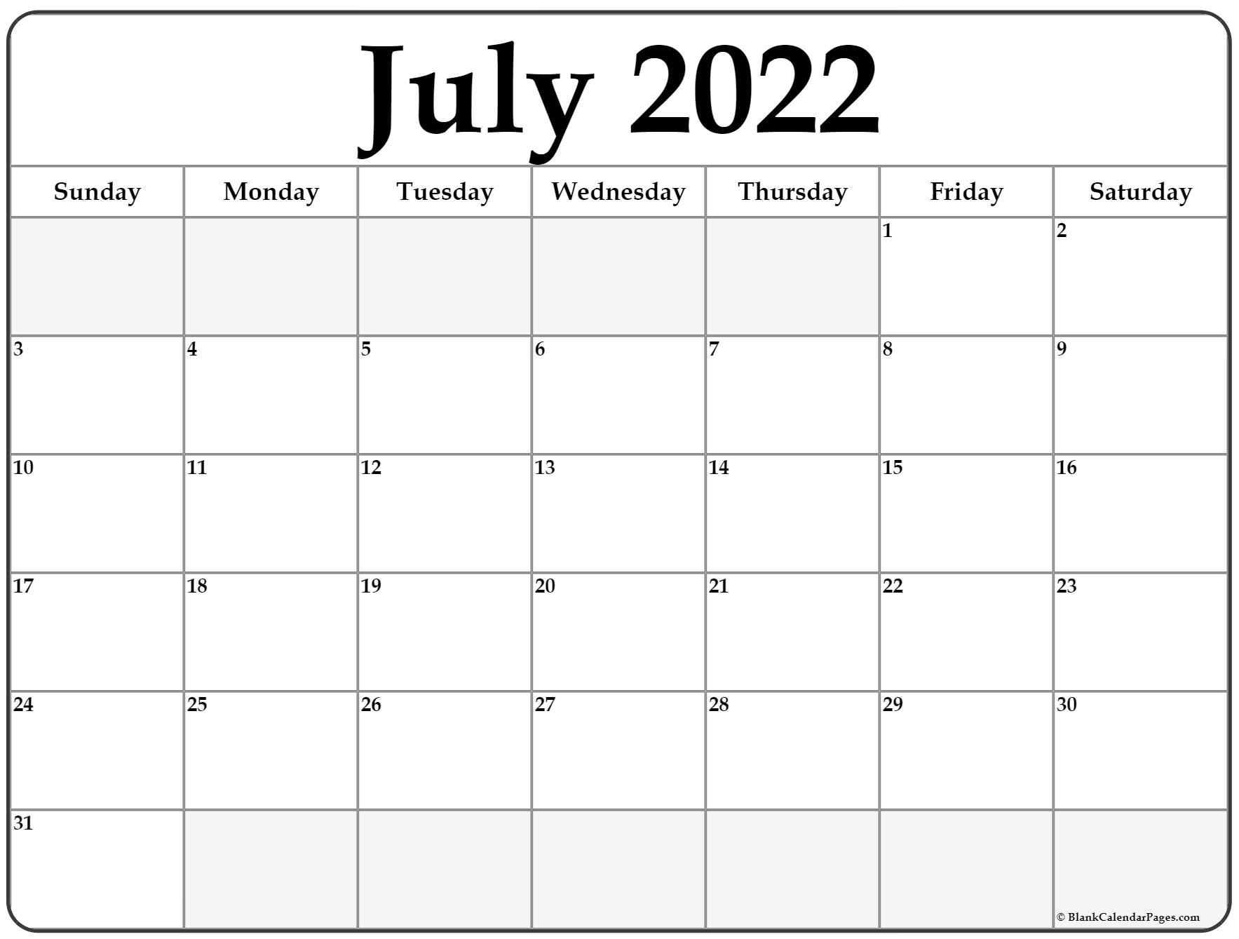 Sure, digital calendars are convenient — we can take them everyw. July 2022 calendar | free printable calendar templates