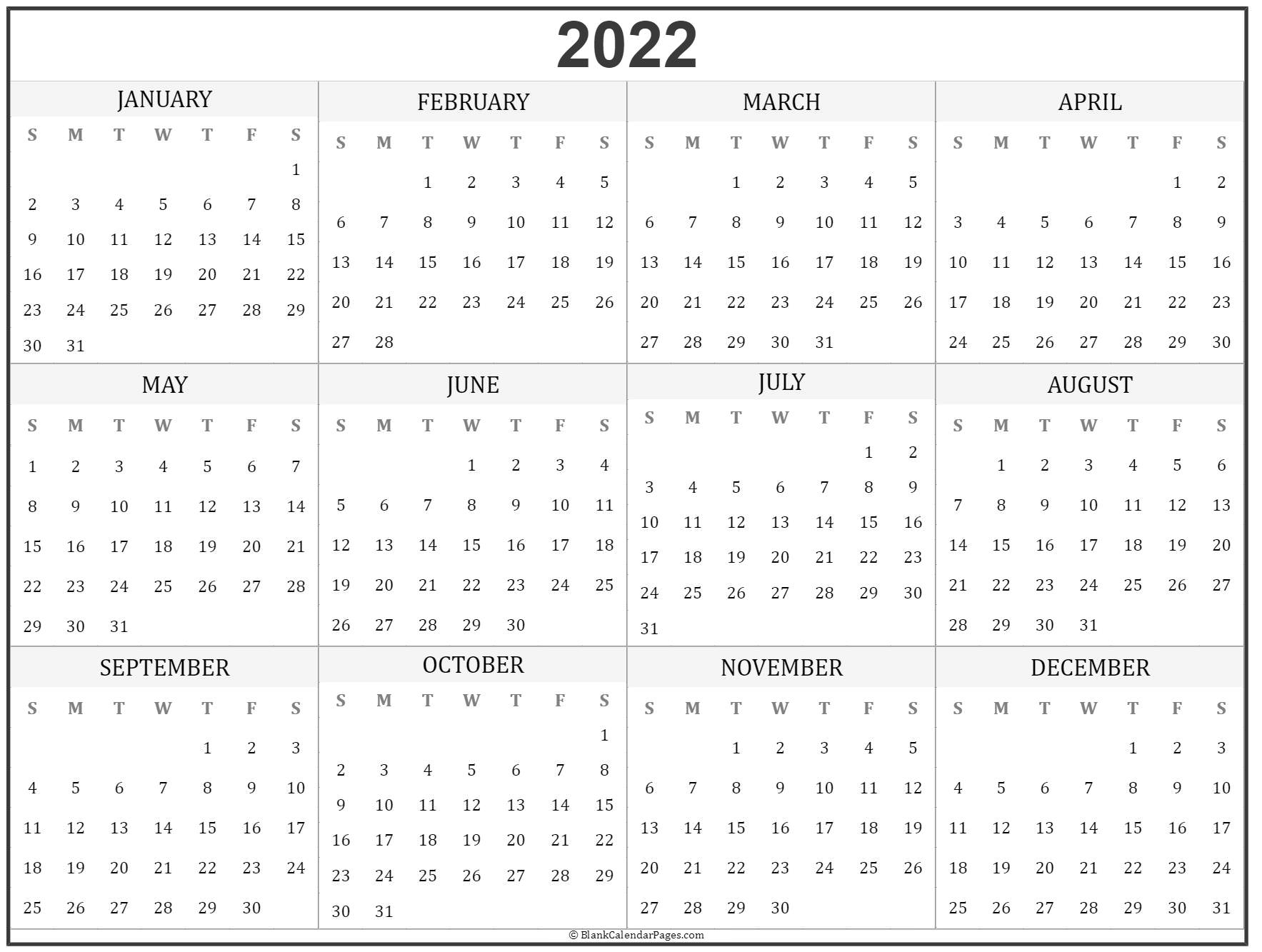 It provides a visual aid and helps students learn how to skip count. 2022 year calendar | yearly printable