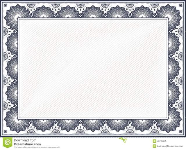 Certificate Border Templates - FREE DOWNLOAD