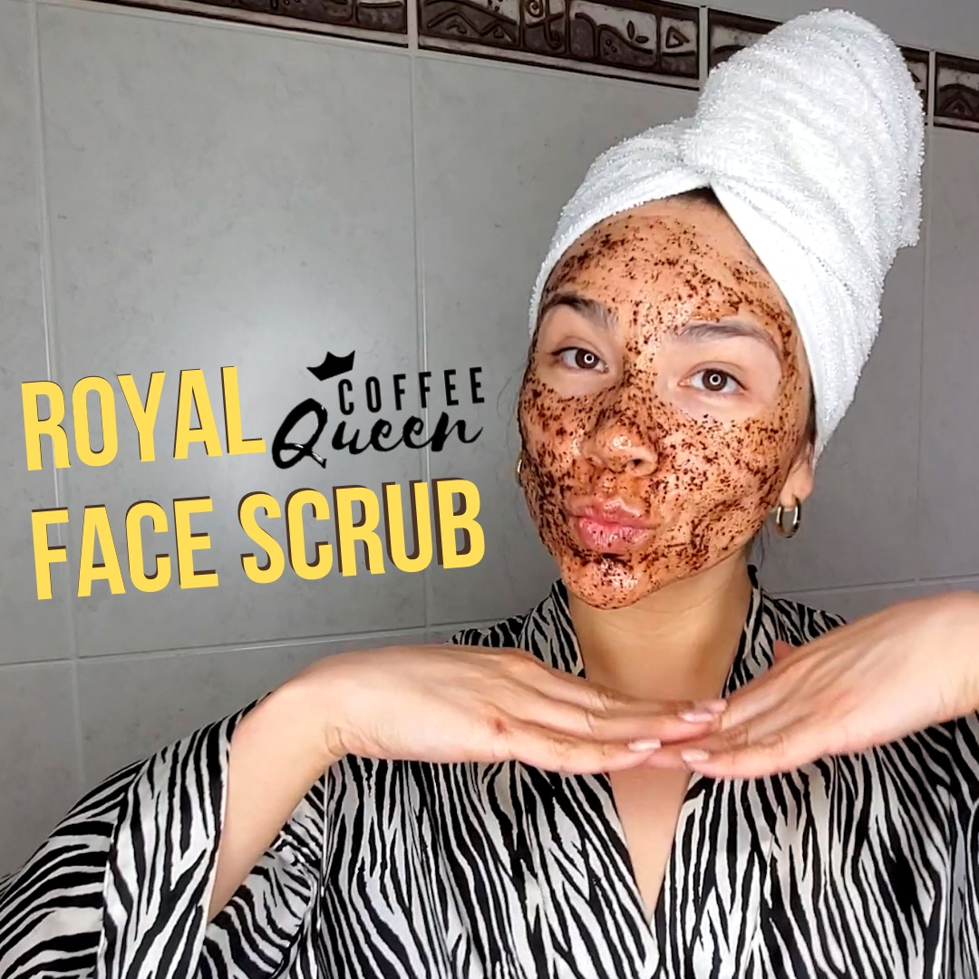 royal coffe facescrub