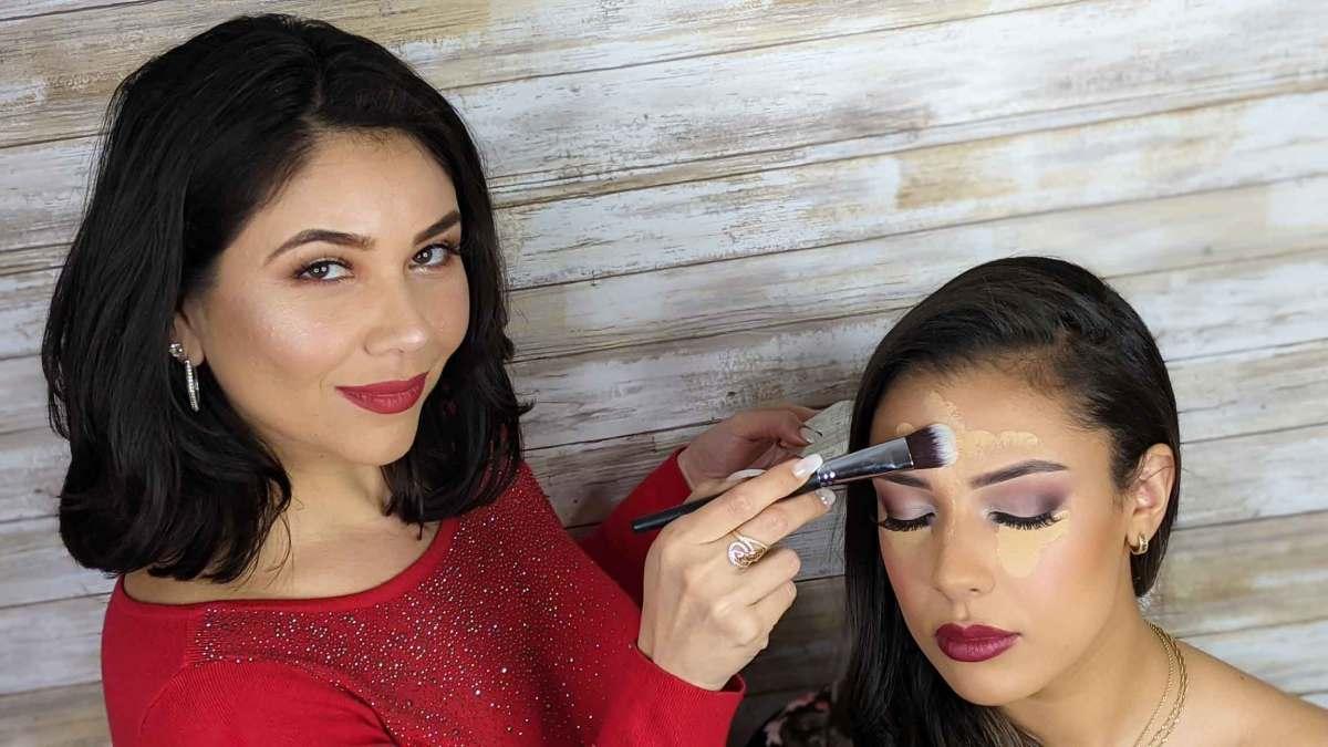 skincare , foundation & concealer makeup course