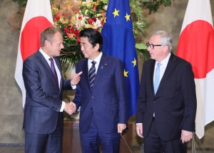 EU Japan signing economic partnership agreement