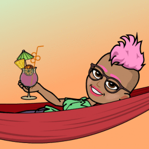 bitmoji paula mangin cocktail