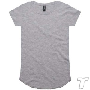 CB Clothing Co Ladies L2 Curve T-Shirt SPORTS GREY