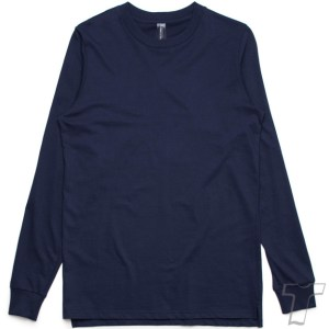 CB Clothing Co Men M6 Long Sleeve T-Shirt Navy Front
