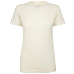 NL Apparel Ladies T-Shirt Natural