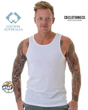 CB Clothing Co Men M8 Singlet