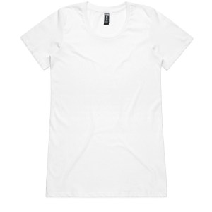 The Blank T Shirt Shop On Sale Premium Ladies T Shirt White