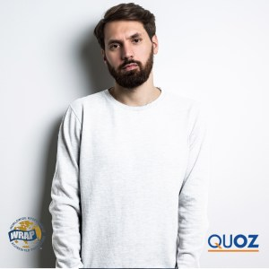 QUOZ Men Brand Long Sleeve Tee