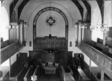 c1955 Inside Stonefield Parish Church