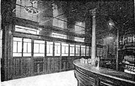 1894 Inside Blakelys Bar